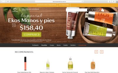 Natura lanzo su plataforma de venta por internet
