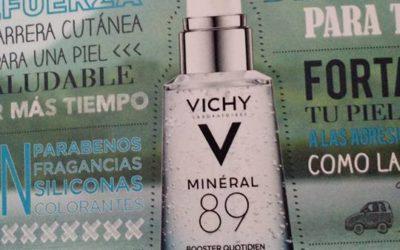 Vichy presenta Mineral 89