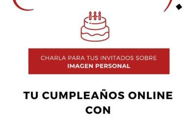 Cumpleaños con una asesora de imagen por internet